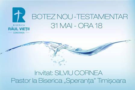 Botez la Biserica Penticostală Râul Vieții Constanța