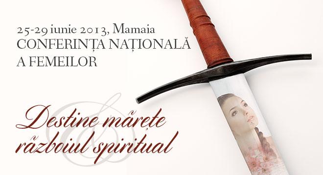 Conferinta nationala pentru femei si fete – Mamaia 2013